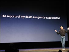 Steve Jobs - premature death