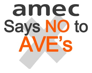 Amec - Say no to AVEs. NEW
