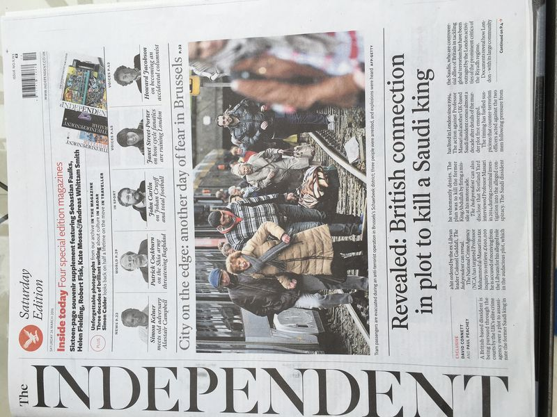 Independent front page 2